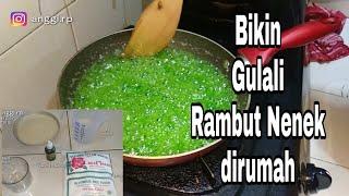 Download Video CARA MEMBUAT GULALI BASAH (RAMBUT NENEK) ALA TANTE ANGGI 😁 MP3 3GP MP4