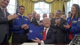 WASHINGTON — Despite calling Freedom Caucus members friends last week, President Trump seemed to take aim Sunday at the Republican hard-line conservatives an...