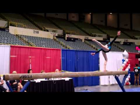 Beam - Nicole Medvitz 2011 JR D JO National Beam Champion 9.7