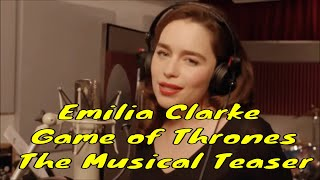 Emilia Clarke is a British actress. She was born in London and grew up in Berkshire, England. Her father is a theatre sound...