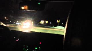 2008 SAAB 9-5 2.3t Nighttime Test Drive