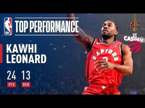 Video: Kawhi Leonard Season Debut With Toronto Raptors | October 17, 2018