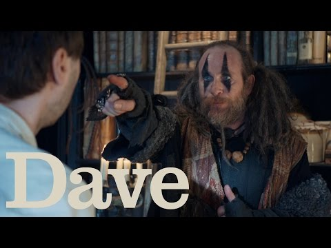 Zapped S1E1 | Howell, Barbara And Brian Search For The Amulet | Dave
