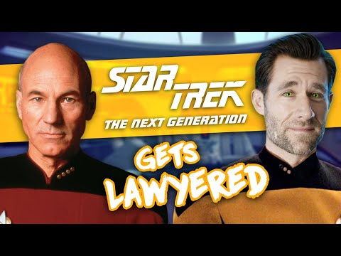 Real Lawyer Reacts to Star Trek TNG Measure of a Man (Picard Defends Data's Humanity)