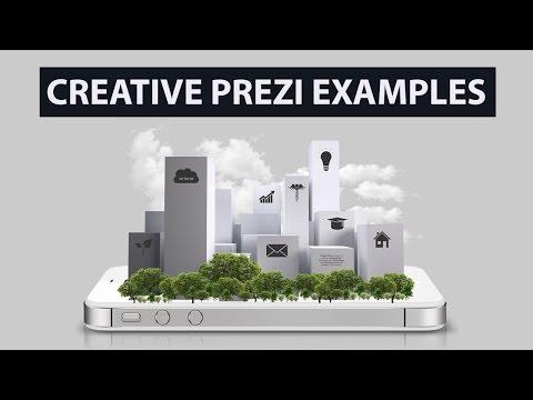 Creative Prezi Design & Zoom Examples