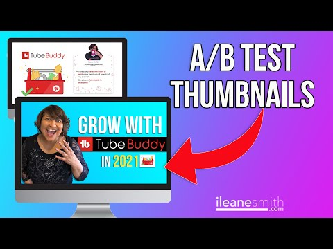 Watch 'How to A/B Test YouTube Thumbnails with TubeBuddy'
