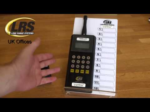 Review: T9550LCK Kitchen Pager Transmitter for Restaurants LRS UK Long Range Systems UK