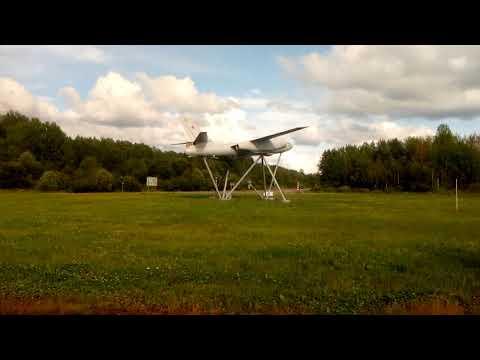 Памятник авиаторам, самолет Ил-28