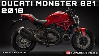 10. 2018 DUCATI MONSTER 821 Review Rendered Price Specs Release Date