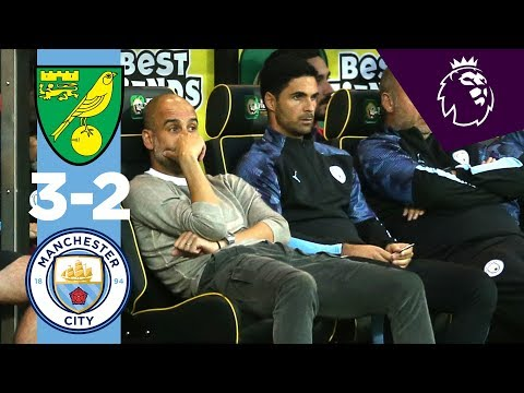 Video: HIGHLIGHTS | Norwich City 3-2 Man City | McLean, Cantwell, Aguero, Pukki, Rodrigo