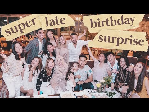 Rachel di mata sahabat (Late surprise for rachel)