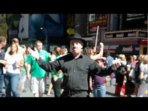 Dave Cremin - The Amazing Dave Cremin levitates an entire deck of cards over Times Square. A short by Eric Wagner & Sharon Ma.