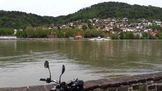 6. Ural Retro in Austria, Danube river 2