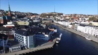 Arendal Norway  city images : Arendal - Drone films Norway