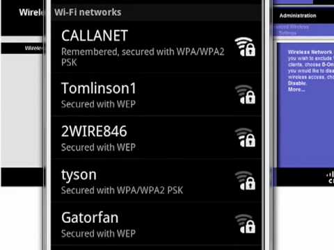 comment trouver ssid wifi