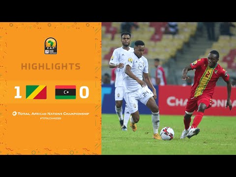 HIGHLIGHTS | Total CHAN 2020 | Round 3 - Group B: Congo 1-0 Libya