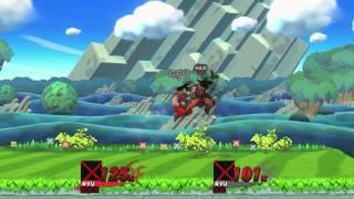 Goku in Sm4sh (Beta)