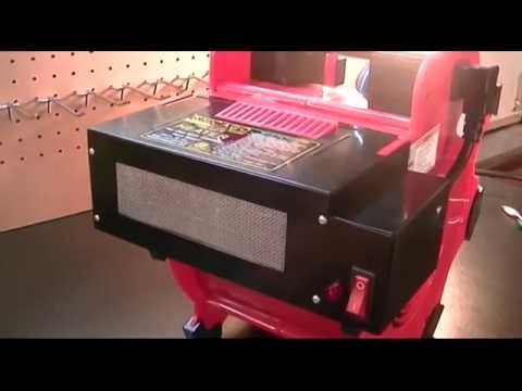 Harbor Freight - Chicago Electric Power Tools Heater Attachment for Portable Blower Review
