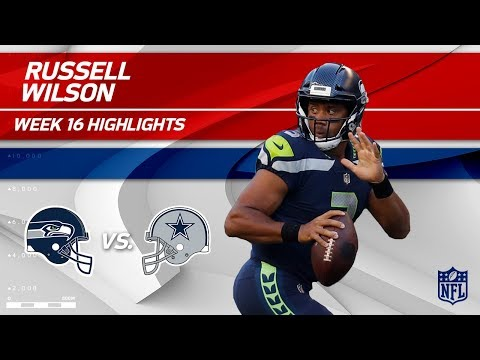 Video: Russell Wilson Highlights | Seahawks vs. Cowboys | NFL Wk 16 Player Highlights