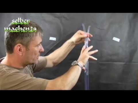 Eine Schlauchwaage Anwendung einfach und genial - selber machen das macht Spaß und spart Geld