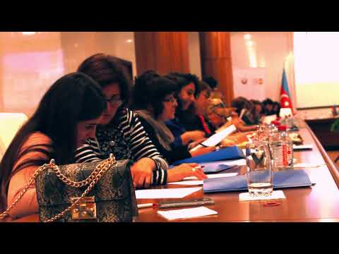 """""""Azərbaycanda Gender Əsaslı Zorakılıqla Mübarizə"""" layihəsi çərçivəsində keçirilən 3 günlük təlim"""