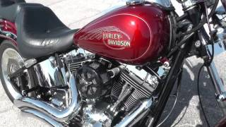 5. 037856 - 2009 Harley Davidson Softail Custom FXSTC - Used Motorcycle For Sale