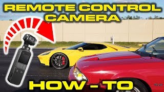 CHEAP REMOTE CONTROL CAMERA * DJI Osmo Pocket * Tesla Autopilot recording new 2018 Ford GT by DragTimes