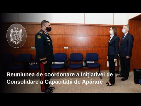 """Președinta Maia Sandu: """"Îmi doresc un management al resurselor umane centrat pe cultivarea loialității militarilor față de țară, nu față de un conducător sau altul"""""""