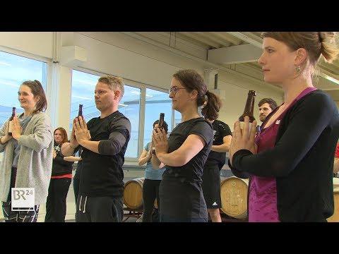 Bieryoga in Nürnberg - Genuss, Entspannung und körperliche Anstrengung miteinander verbinden