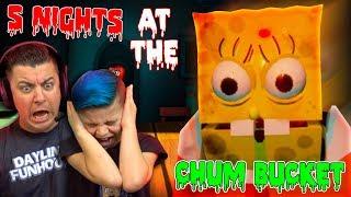 OMG SPONGEBOB! Five Nights at the Chum Bucket (Night 1)