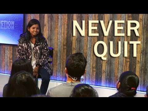 (NEVER QUIT || A Truly Inspiring Story of a Young Woman ...7 min, 31 sec.)