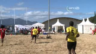 OFC TV Production - Copyright OFC TV © Hosts New Caledonia have beaten Vanuatu 7-6 at the University of New Caledonia in...