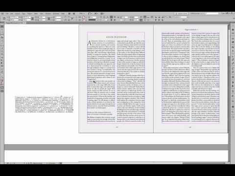 Run-on Footnotes with Footwork