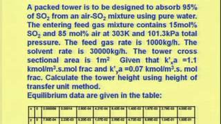 Mod-04 Lec-03 Packed Tower Design Part II