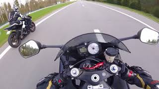 7. Top speed of Yamaha R6 2003 and 2007