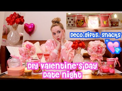 Video DIY Valentine's Day Date Night download in MP3, 3GP, MP4, WEBM, AVI, FLV February 2017
