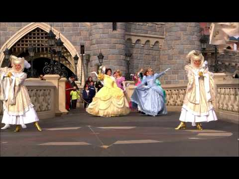 Christmas 2014 – Disney Princess Promenade – Disneyland Paris