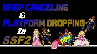 Specifics of Drop-Cancelling in SSF2.