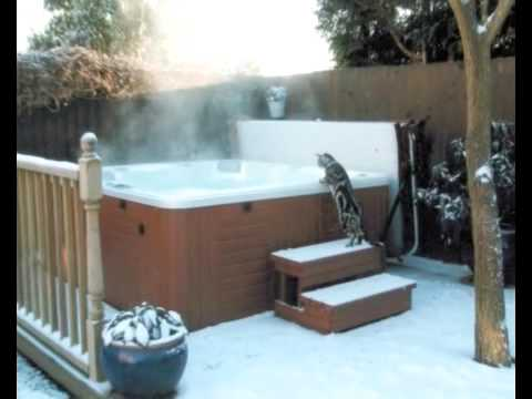 Hot Tub Ideas from Hot Tub Barn - Winter For more Hot Tub videos check out