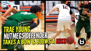 Trae Young Drops 42Pts! Takes a Bow & Blows a Kiss To the Visiting Student Section