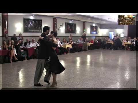 Aurora Lubiz, Demian Garcia, La Baldosa Milonga, tango, Buenos Aires