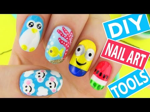 5 easy nail art designs