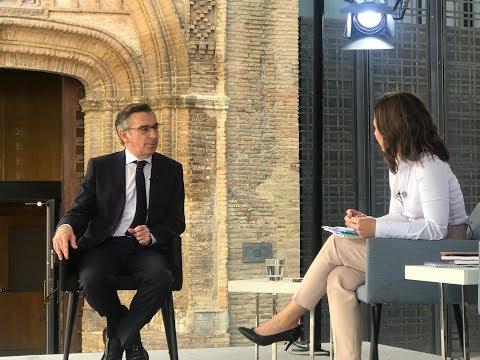 Luis María Beamonte en la #SesiónConstitutiva de las Cortes (Aragón TV)