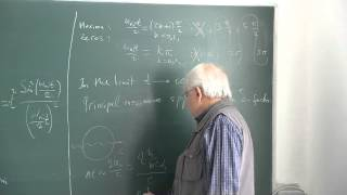 METU - Quantum Mechanics II - Week 5 - Lecture 1