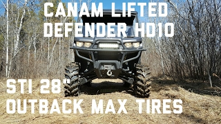 9. Lifted Defender HD10 Trail Beast!