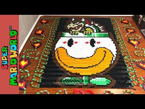 Super Mario World in Dominos