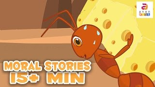 Anon kids presents a collection of short stories for kids. In this 14+ minutes moral story compilation includes the best moral stories from Aesop's fables wi...