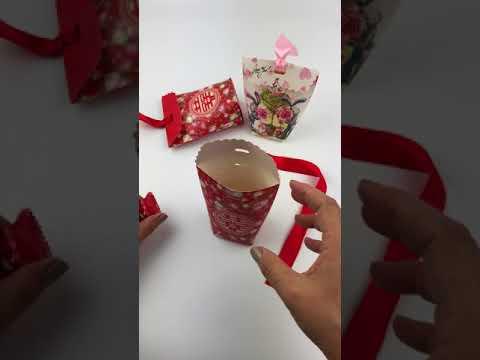 3862-歐式創意喜糖盒DIY步驟