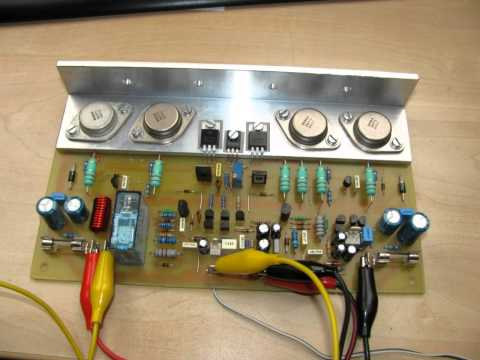 SPA200K diy Audio Amplifier 2x200W