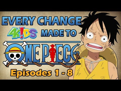 Every Change 4Kids Made to One Piece: Romance Dawn Arc